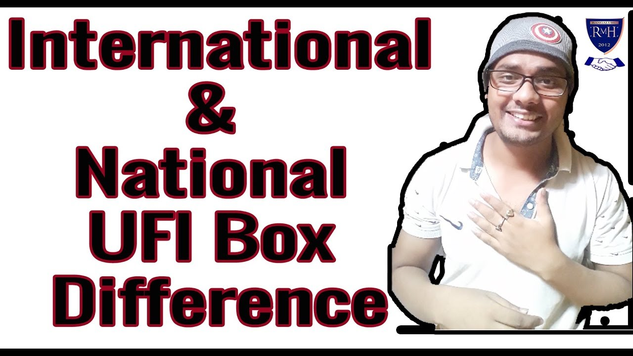 What is the Difference Between International & National UFI Box?