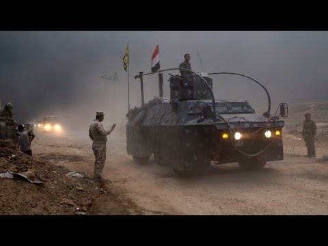 Iraqi special forces closing in on Mosul