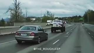 Annoying slow drivers in the left lane