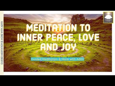 Meditation to Inner Peace, Love and Joy|Brian Weiss |