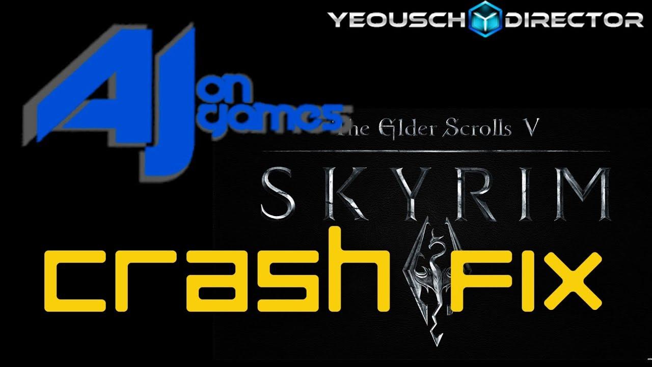 Skyrim special edition crash on startup