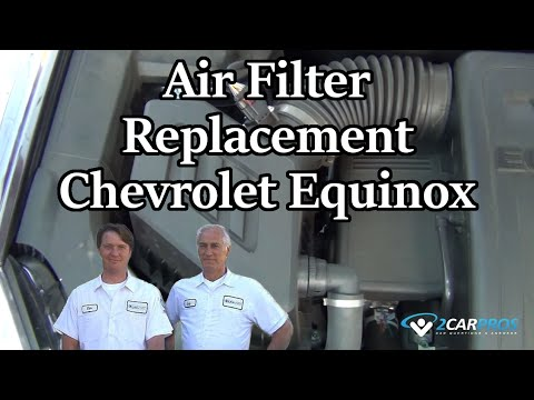 Air Filter Replacement Chevrolet Equinox 2010-present - YouTube