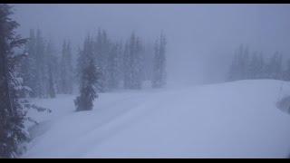 Raw video of blizzard raging in tahoe
