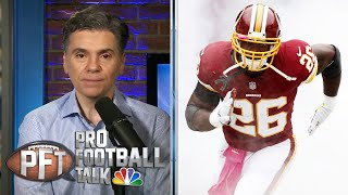 In a stunning move, the washington football team has decided to cut veteran rb adrian peterson. #nbcsports #profootballtalk #adrianpeterson» subscribe nbc...
