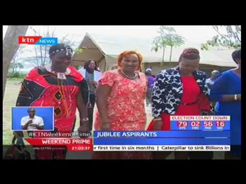 Jubilee aspirants unite in favour of their presidential candidate president Uhuru Kenyatta