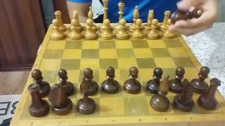 Как правильно расставить шахматные фигуры. Урок 2.