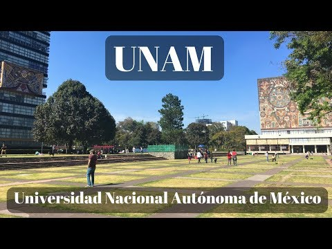 Walking around UNAM in Mexico City - (Vlog 2)