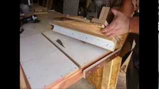 Homemade Tools - Table Saw Fence, $50 Wood Shop!
