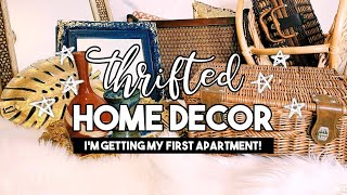 HUGE THRIFT HAUL  |  Home Decor for my New Apartment!!!