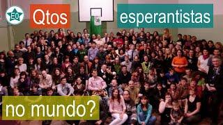 Quantos esperantistas há no mundo? | Esperanto do ZERO!