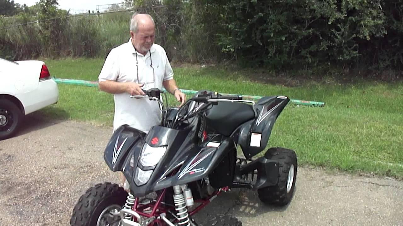 2007 Suzuki Quadsport Z400 Walkaround - YouTube