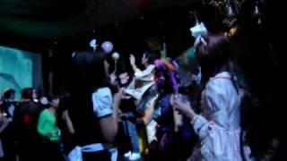新宿キリストンカフェ。Tokyo Decadance DX special Valentine2009.