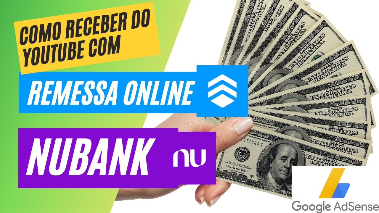 Download 💵 ✅ Como RECEBER DO YOUTUBE pelo remessa online para seu Nubank