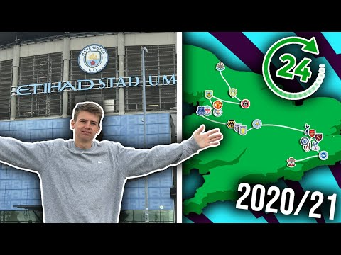 VISITING EVERY 2020/21 PREMIER LEAGUE STADIUM IN 24 HOURS