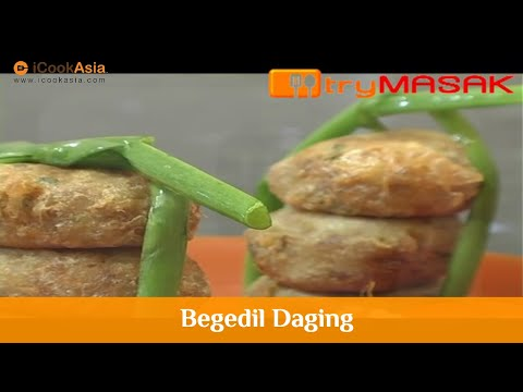 Bergedil Daging   Resipi Sihat   Nutrition Society of Malaysia   Try Masak   iCookAsia