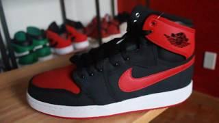 ajko bred 2015 review unboxing air jordan 1 canvas sneaker talk