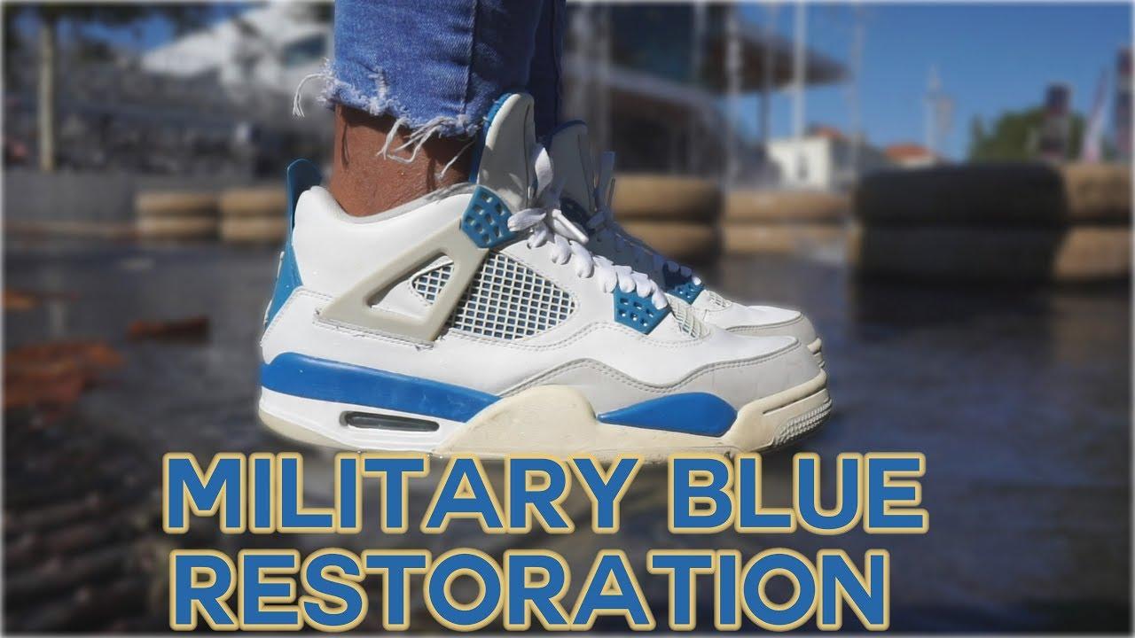 NIKE AIR JORDAN 4 MILITARY BLUE 2012