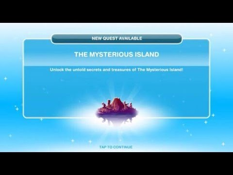 [The Sims Freeplay] - The Mysterious Island Görevi