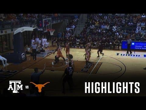 Men's Basketball: Highlights   Exhibition vs Texas