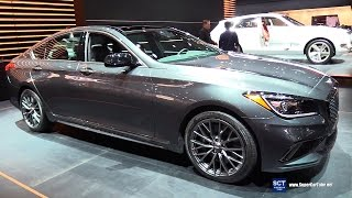 2018 Genesis G80 Sport Exterior and Interior Walkaround 2017 New York Auto Show