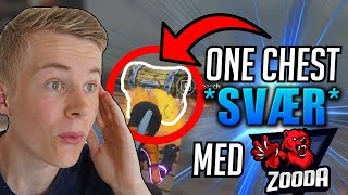 ONE CHEST CHALLENGE (GENNEMFØRT!?) - NY FORTNITE SERIE M. ZOODA!