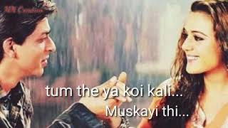 DO PAL RUKA KHAWABON KA KARWA ( VEER -ZAARA) MOVIE SAD SONG