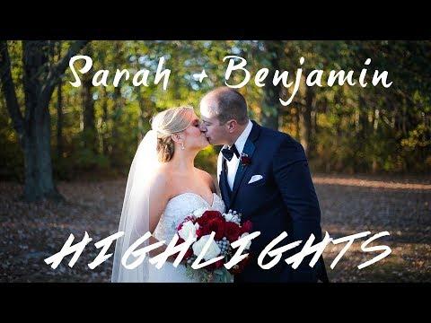 Sarah and Benjamin Kline Wedding - Highlights