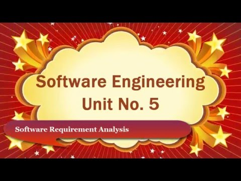 Analysis Concepts and Principal Software Engineering Computer Education for All Unit No.5