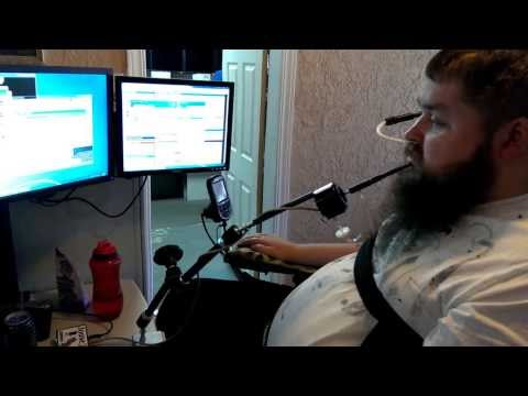 Sip & Puff Joystick Controlled by Mouth - Jouse2