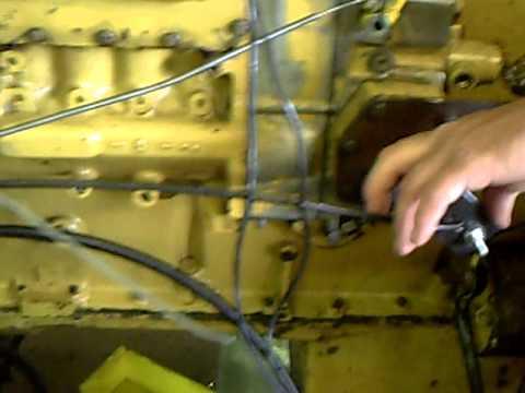 3406 cat diesel engine dissasemble part 3 ( running w