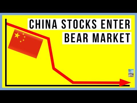 China Stocks Enter BEAR MARKET! Deutsche Bank Hits RECORD LO