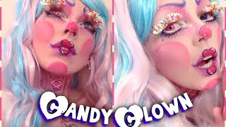 Halloween Makeup Tutorial Candy Clown