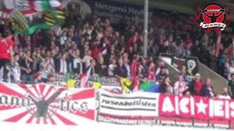Rb Leipzig vs. FC Heidenheim - Away Support @ Voith-Arena (18.09.2015)