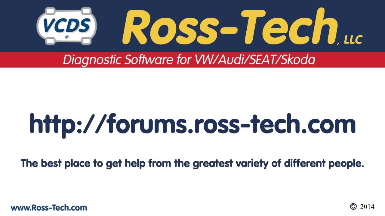 Ross Tech Web Forum - YouTube