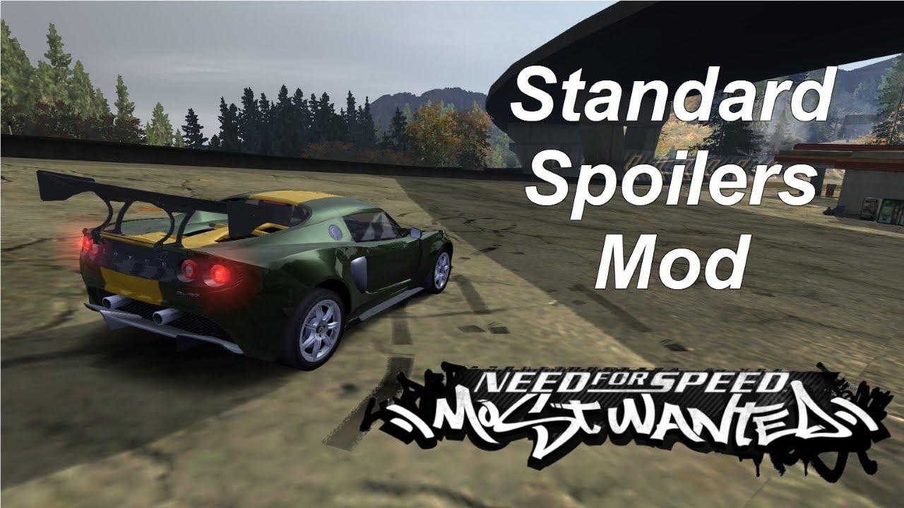 NFSMods - NFS MW New Spoiler Pack Part 1