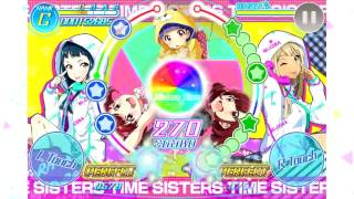【Tokyo 7th Sisters TH】VS B-A-T-T-L-I-V-E-!! - Girls Talk!! (Gameplay-Hard Fullcombo)