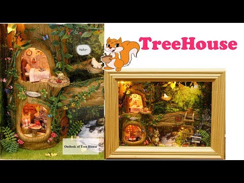 DIY Tree House Appartment Frame Tia Tia