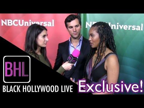 Juan Pablo Di Pace & Chipo Chung @ NBC Universal's Winter Press Tour  Black Hollywood Live