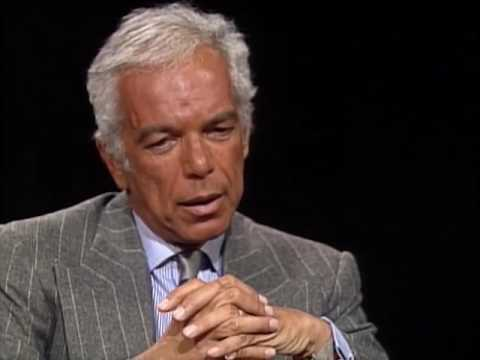 Ralph Lauren (American Designer) interview with Charlie Rose 1993