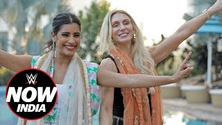 Charlotte Flair learns Bhangra in India: WWE Now India