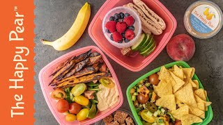 Healthy Lunchbox Ideas 3 Ways | THE HAPPY PEAR