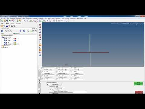 abaqus Forming tutorial part 1 (hypermesh and abaqus )