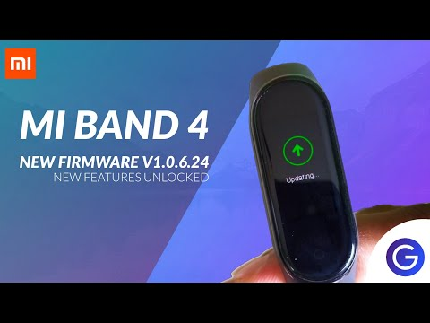 Mi Band 4 New Firmware Update V1.0.6.24 | Most awaited features unlocked