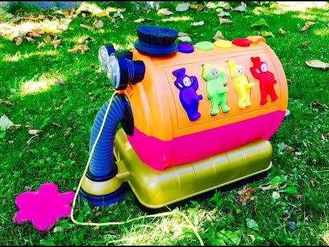 TELETUBBIES NOO NOO Toy Puzzle Outdoor Adventure!!