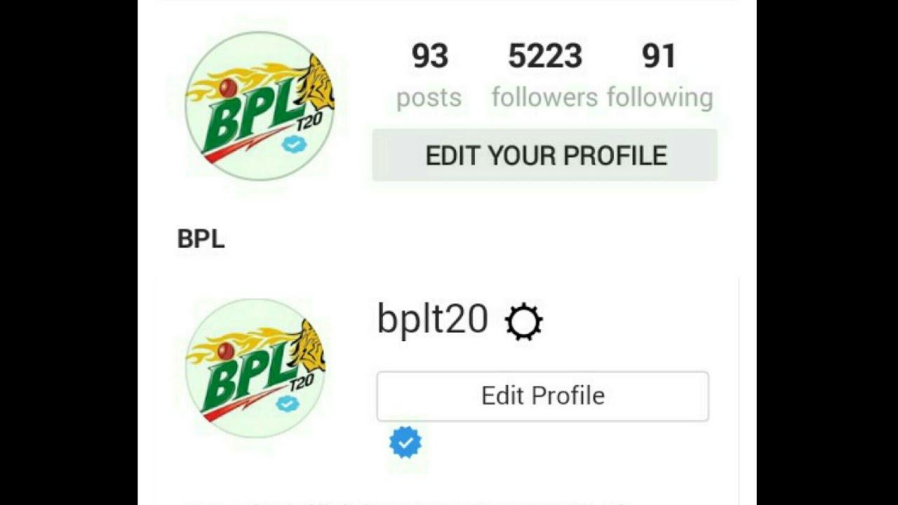 Lowest Followers Verified Instagram Account