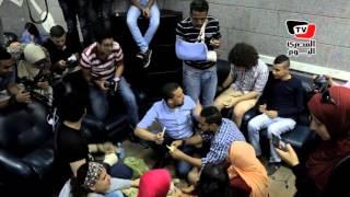 «فسيخ وبصل» في اعتصام الصحفيين داخل نقابتهم