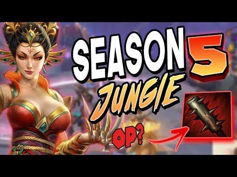Smite: SEASON 5 Da Ji Jungle Gameplay - NEW CRUSHER OP?