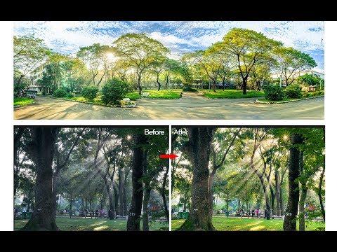 Hướng dẫn chỉnh sửa ảnh phong cảnh đẹp đơn giản bằng phần mềm Camera Raw và Lightroom CC