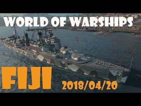 World of Warships UK Tier 7 Cruiser Fiji