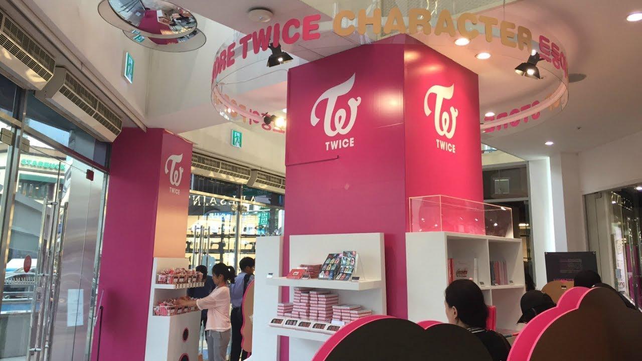 트와이스 (TWICE) Character Pop-Up Store Myeongdong Lotte Young Plaza Round 2